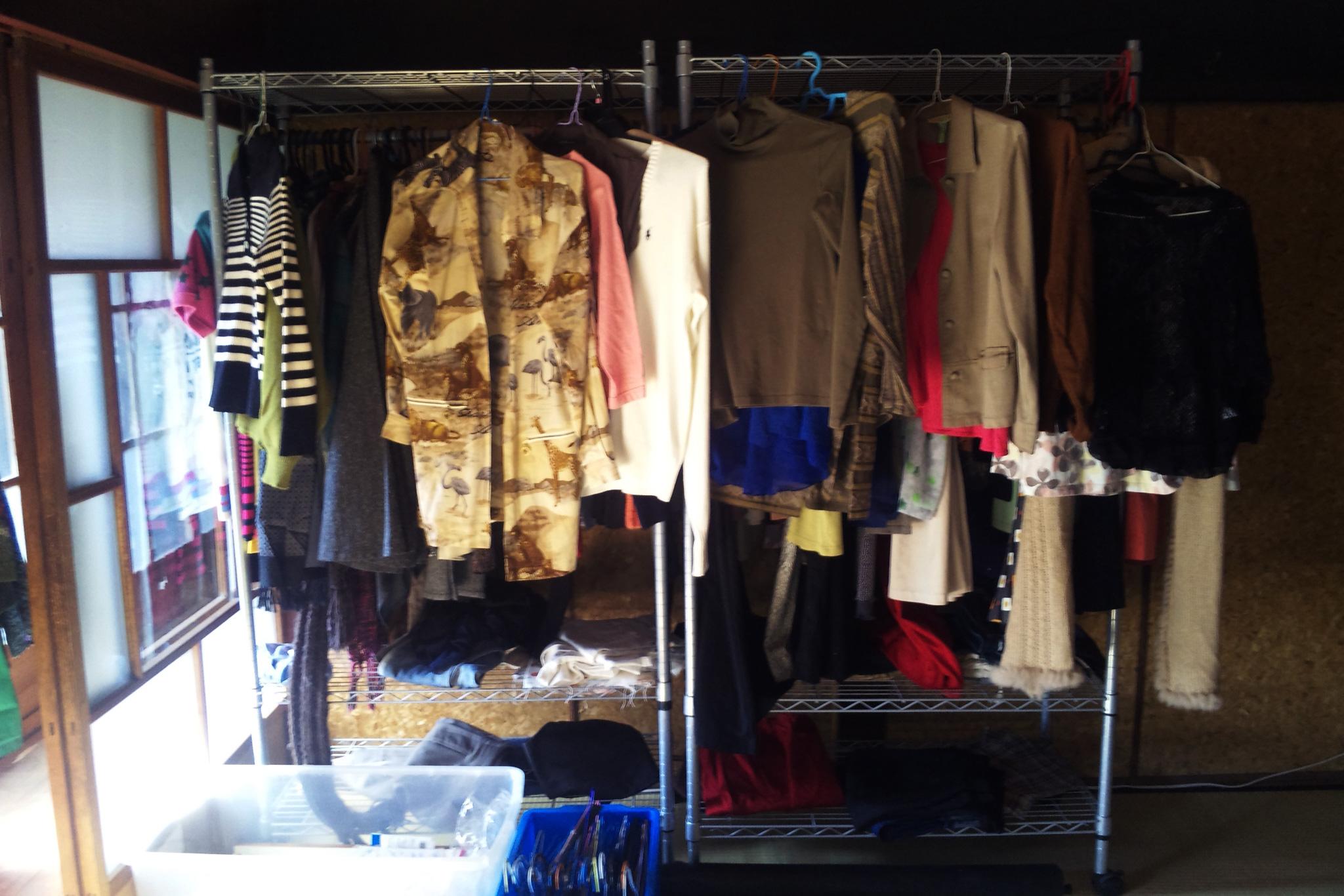 リユースの衣服