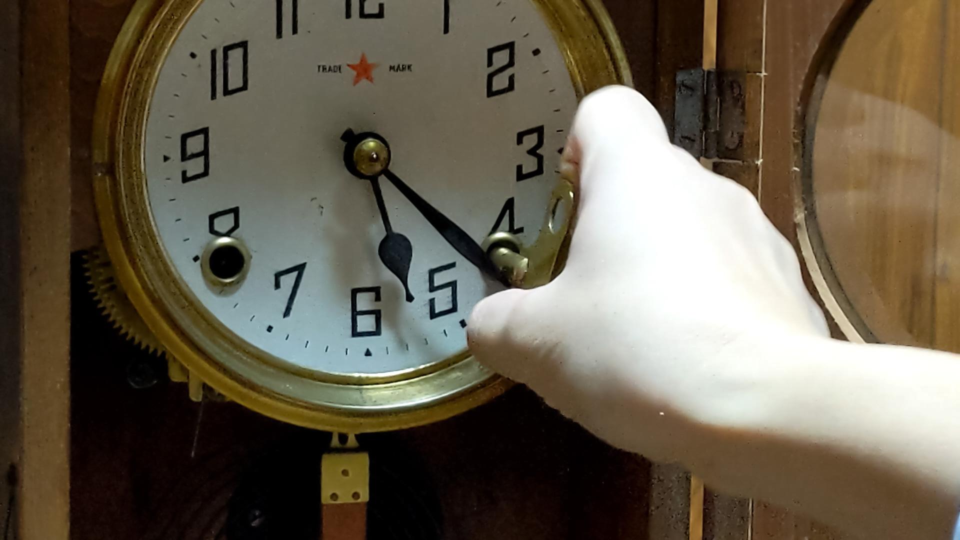 大正生まれの振り子時計